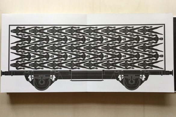 Locomotive - Ideolo - On printed paper