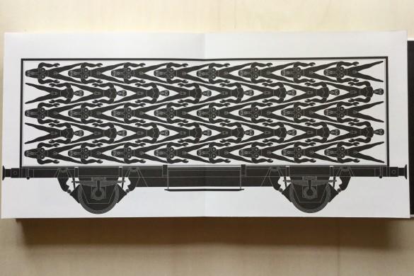Locomotive - Ideolo - On printed paper