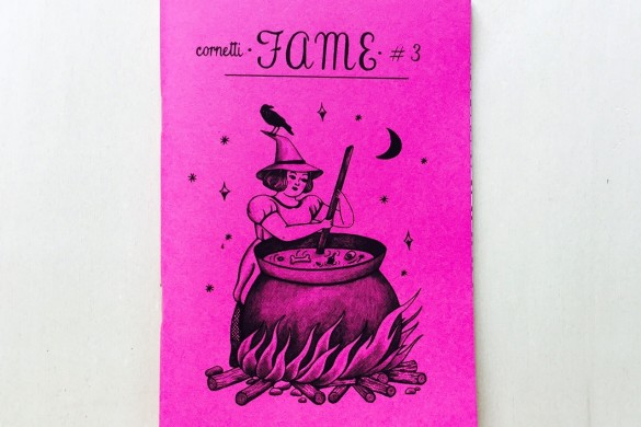Fame - Fanzine - On printed paper