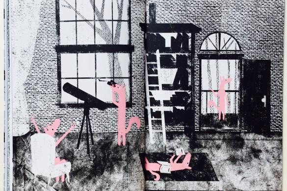 Che spavento - Oh Schreck! - Luca Di Battista - Illustration - On printed paper