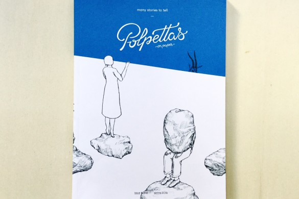 Polpettas - On printed paper