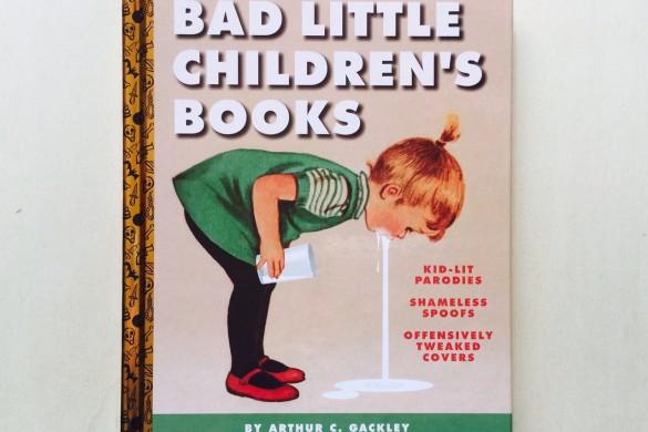 Bad Little Children's Books - Illustration - On printed paper