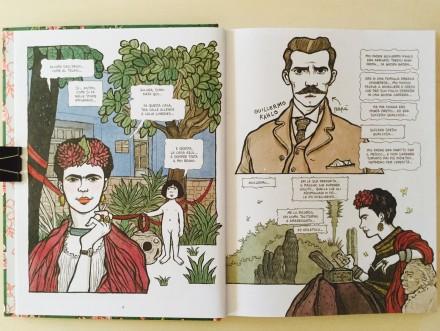Frida - Vanna Vinci - On printed paper