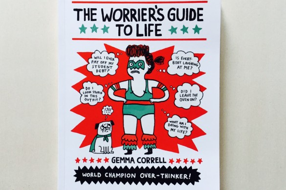 The Worrier's Guide to Life - Gemma Correll - On printed paper